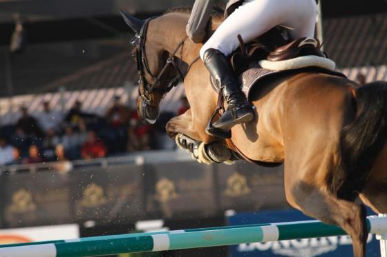 Philipp und Belo Horizonte gewannen mit rund 5 Sekunden Abstand die Qualifikation zum Großen Preis