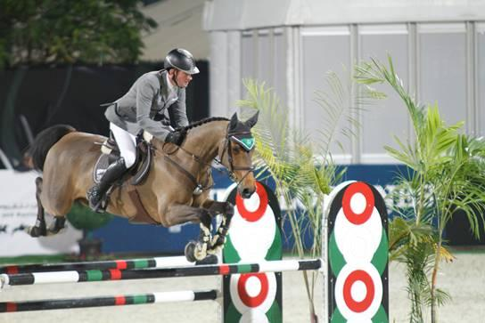 Belo Horizonte siegt im CSI** GP in Sharjah