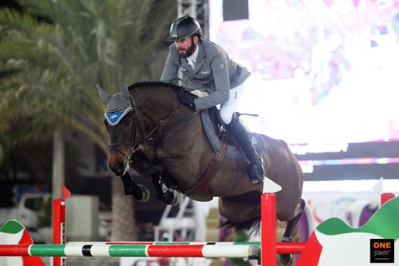 Foto: One Shot | www.oneshot-photos.com / Philipp und Catokia gewinnen den Sharjah Grand Prix