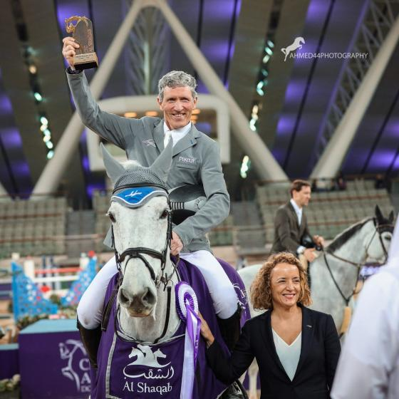 Foto: @Ahmed44Photography | Ludger und Chiara siegen in Doha