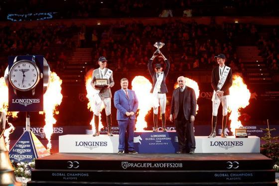 Sieger im LGCT Super Grand Prix | Foto: LGCT / Stefano Grasso