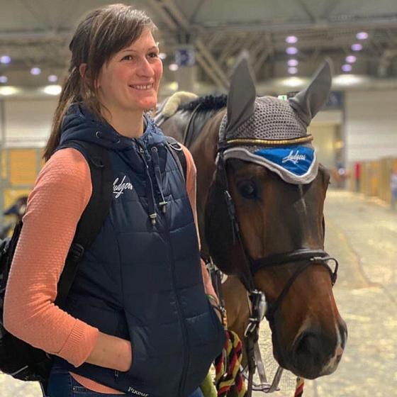 Foto: Noora Forstén | Lisa und Coby warten auf die Platzierung