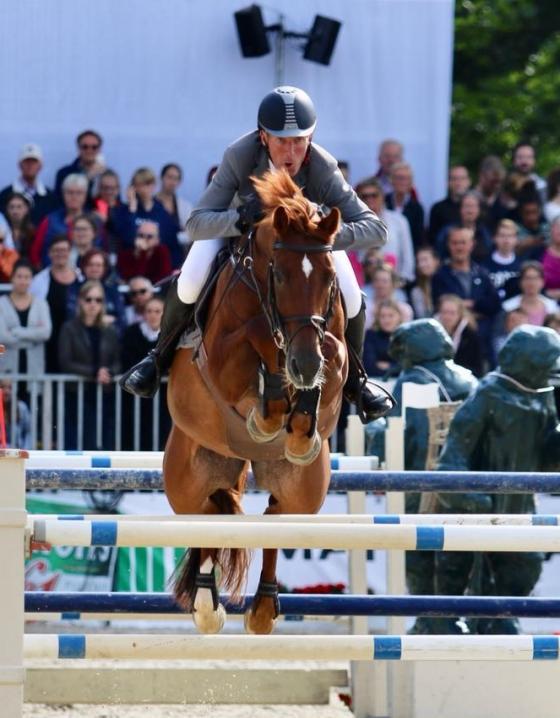 Ludger und Casello wurden Dritte im Großen Preis der Deutschen Kreditbank AG