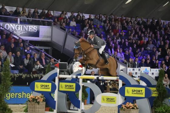 Foto: Facebook | Jumping Mechelen - Ludger und Casello werden Vierte im Weltcupspringen von Mechelen