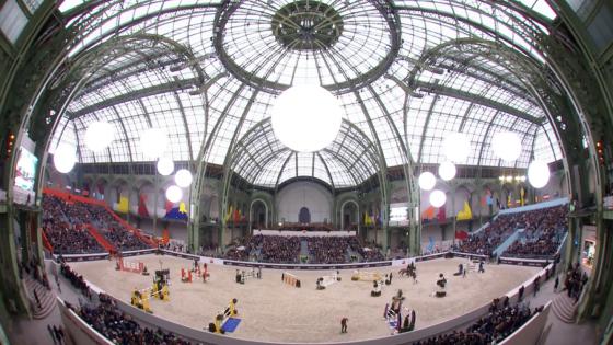 Springsport auf höchstem Niveau unter der Kuppel des Grand Palais