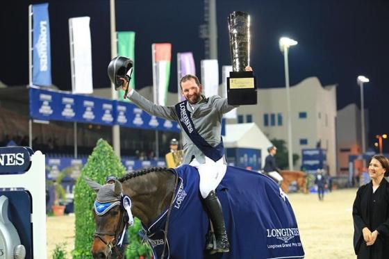Philipp und Catokia gewinnen den Grand Prix beim CSIO5* in Abu Dhabi