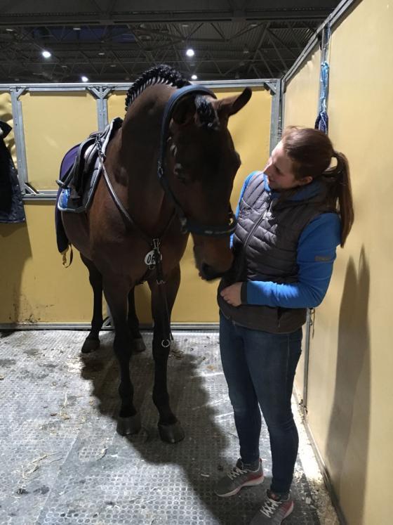 Chaman mit seiner Pflegerin Johanna