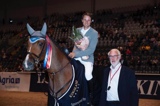 Christian und Lacasino siegen in Oslo im Zeitspringen mit Stechen presented by Runsten Equestrian