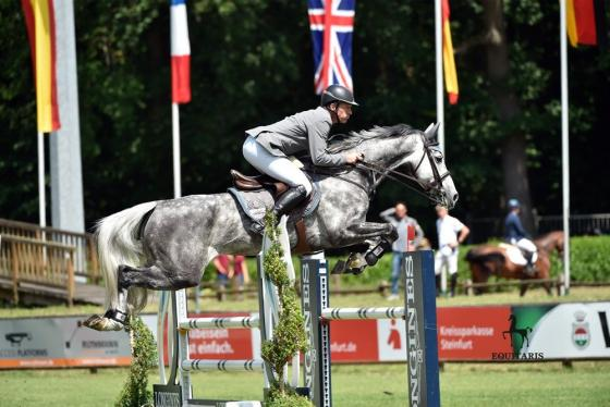 Foto: Equitaris | Ludger und Mila in der Youngster Tour