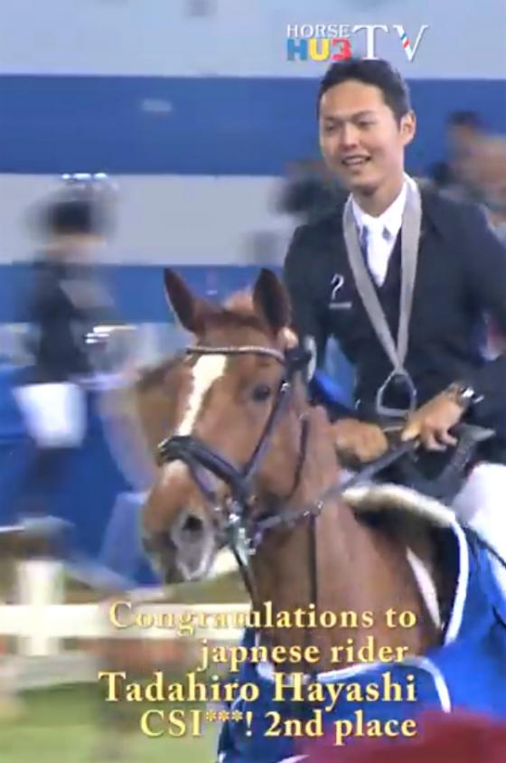 Tadahiro wird 2. im Großen Preis des CSI***